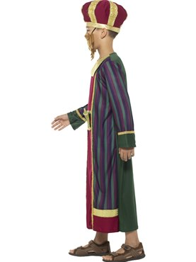 Child King Balthazar Costume - Back View