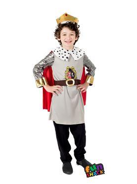 Child King Costume