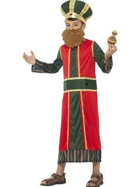 Child King Gaspar Costume - Back View