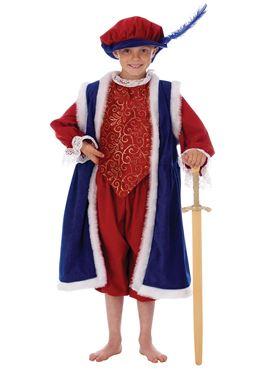 Child Deluxe King Henry Costume