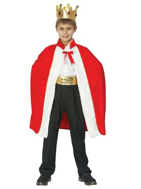 Child Kings Robe Costume
