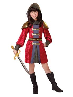 Child Knight Princess Costume