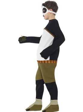 Child Kung Fu Panda Costume - Back View