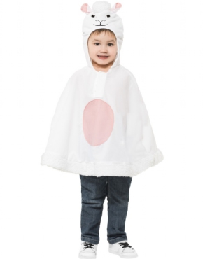 Child Lamb Poncho