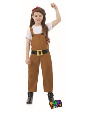 Child Land Girl Costume