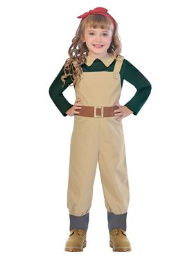 Child Landgirl Costume
