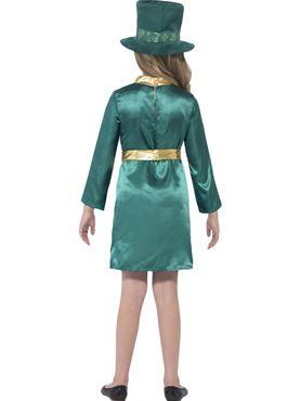 Child Leprechaun Girl Costume - Side View