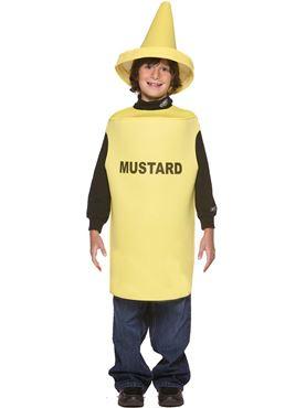Child Lightweight Mustard Costume