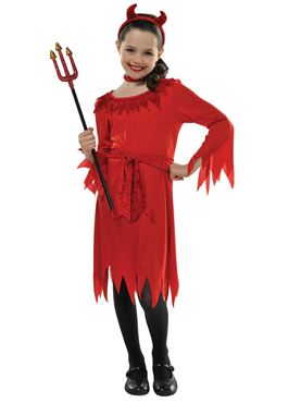 Child Lil Devil Costume