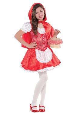 Child Lil Red Riding Hood Costume