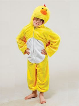Child Plush Chicken Costume