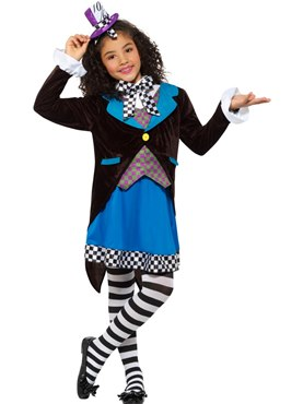 Child Little Miss Hatter Costume Couples Costume