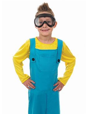 Child Little Welder Boy Costume - Back View