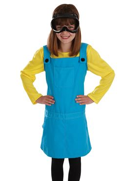 Child Little Welder Girl Costume