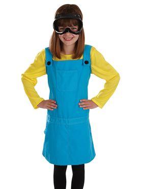 Child Little Welder Girl Costume