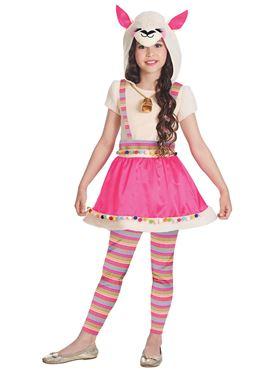Child Lovely Llama Costume