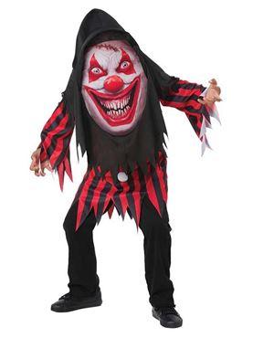 Child Mad Creeper Clown Costume