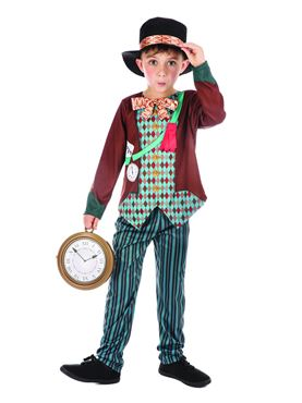 Child Mad Hatter Boy Costume Couples Costume