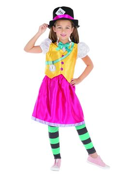Child Mad Hatter Girl Costume