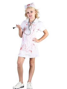 Child Mad Nurse Costume