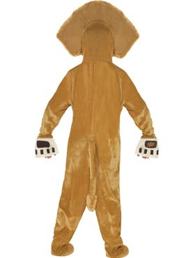 Child Madagascar Alex the Lion Costume - Side View