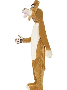 Child Madagascar Alex the Lion Costume - Back View