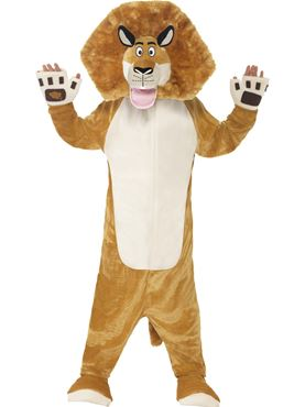 Child Madagascar Alex the Lion Costume