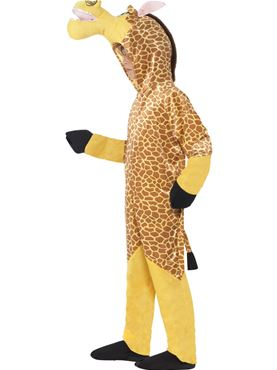Child Madagascar Melman the Giraffe Costume - Back View