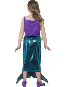 Child Magical Mermaid Costume - Side View