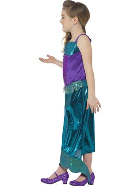 Child Magical Mermaid Costume - Back View