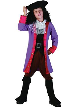 Child Pirate Hook Costume Couples Costume