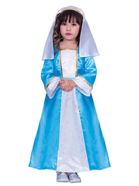 Child Mary Costume - Back View