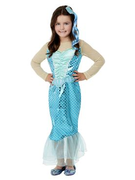 Child Mermaid Costume - Back View