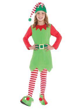 Child Merry Elf Costume