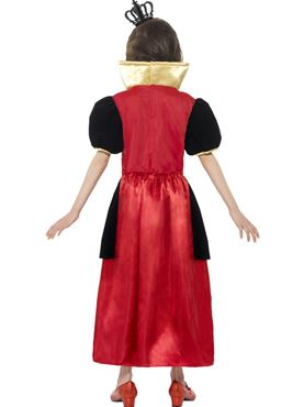 Child Miss Hearts Costume - Side View