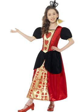 Child Miss Hearts Costume