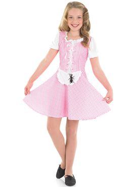 Child Miss Muffet Costume