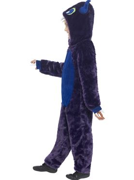 Child Monster Costume - Back View