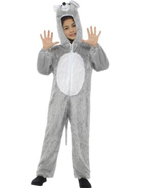 Child Mouse Costume - Side View