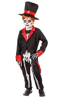 Child Mr Bone Jangles Costume