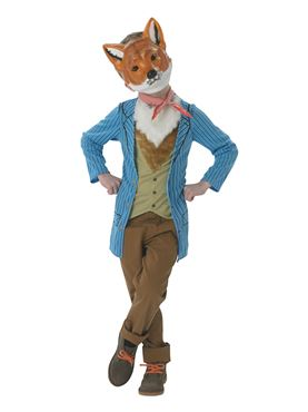 Child Mr Fox Costume Couples Costume
