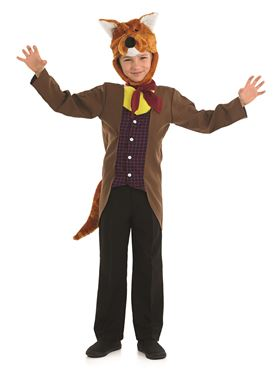 Child Mr Fox Costume