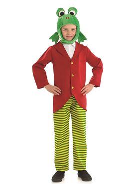 Child Mr Frog Costume