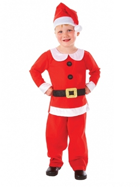 Child Mr Santa Costume