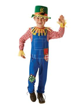 Child Mr Scarecrow Costume Couples Costume