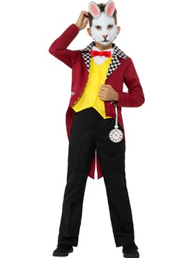 Child Mr White Rabbit Costume