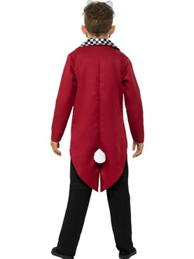 Child Mr White Rabbit Costume - Side View