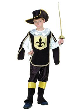 Child Musketeer Boy Costume