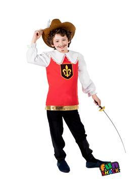Child Musketeer Costume