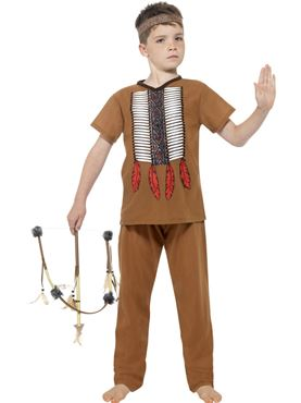 Child Native Indian Warrior Costume